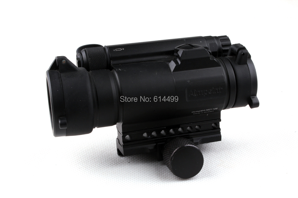 Hunting Shooting Tactical Aimpoint Style M4 1x35 Red Dot Sight Scope Laser Riflescope Brand New