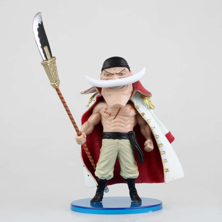 One Piece Action Japanese Anime White Beard Pirates ACE Figure Toys Juguete Bonecos 8cm PVC Model Brinquedos Kids Toys 0057(China (Mainland))