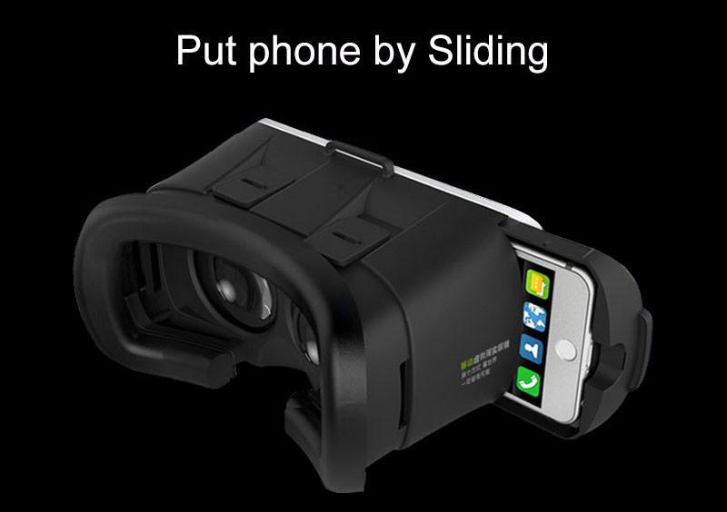 Google Cardboard VR BOX 3D Glasses Virtual Reality smartphone Helmet VR Headset VR Goggles Head Mount+Bluetooth Controller