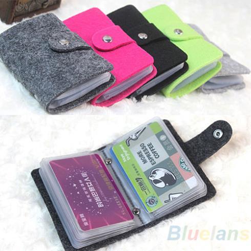 Vintage Womens Men Pouch ID Credit Card Wallet Cash Holder Organizer Case Box Pocket Passport Cover 1IZ9(China (Mainland))