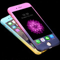 Fashion Gradient Phone Front Back Case Cover Capa Tempered Glass Screen Protector For iPhone 5 5S