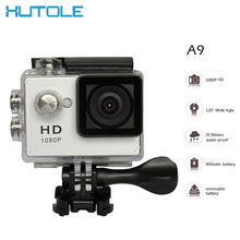 2016 Hot Action Digital Camera HD 1080P 2.0 inch Screen Under water 30M Waterproof Photo Camera Video Sport Mini camcorder(China (Mainland))