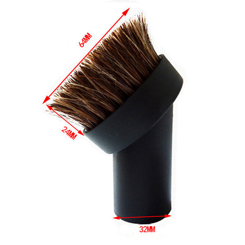 Free Post vacuum cleaner parts and accessories vacuum cleaner soft brushes horse hair brush and PP brush household electrical(China (Mainland))