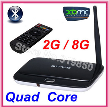 Bluetooth CS918 Cortex-A9 Mini PC Android TV box 4.4.2  tv stick 1.8 GHz 2GB RAM 8GB Rk3188 Quad Core XBMC HDMI + Remote Control