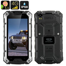 """Buy Upgrade Version Rugged Android Waterproof phone 6000mAH Conquest S6 MTK6735 Quad Core 5"""" 3GB RAM 32GB ROM CAT 4G LTE FDD Runbo for $420.00 in AliExpress store"""