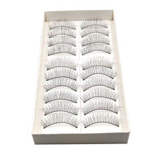Fantastic New 10 Pairs Long Thick Soft Handmade Fake False Eye Lash Makeup Extensions  0521