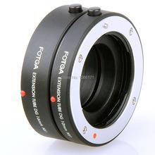 FOTGA NX Autofocus Electronic Extension Tube 10 + 16mm for Samsung NX Mount Micro Camera and NX Mount Autofocus Lens - Black(China (Mainland))