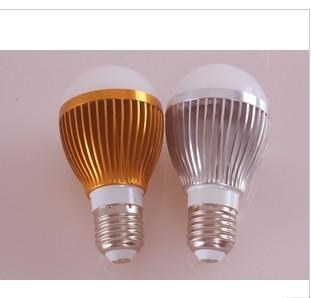 Hot selling~ High Power E27 3W 4w 5w  85-265V 10pcs a lot LED Light LED Bulb Spotlight globe light 20p<br><br>Aliexpress