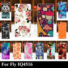 Buy Case Fly IQ4516 IQ 4516 Colorful Printing Drawing Transparent Plastic Phone Cover Soft Silicone tpu mobile Phone Cases for $2.70 in AliExpress store