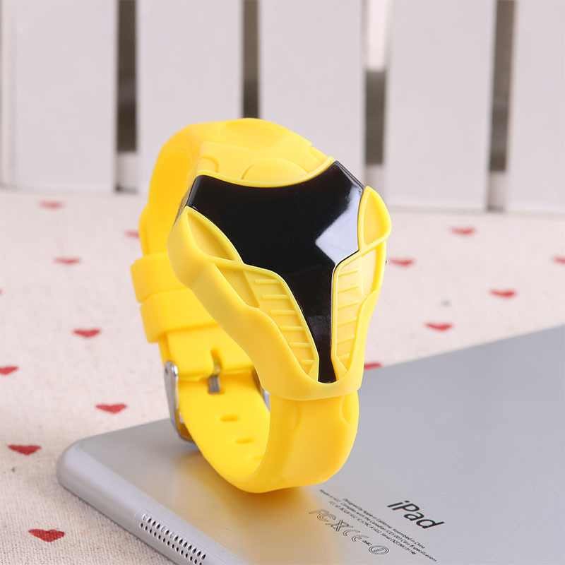 Fashion sports Cobra Watches LED Men Watch Quartz watches 12 colors 0211