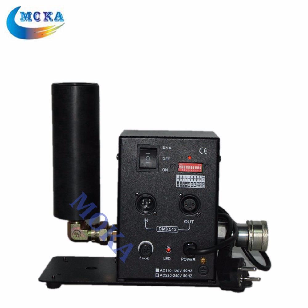 2pcs/lot DMX512 CO2 Jet Cannon Machine dj Jet Set Co2 Special Effects Equipment(China (Mainland))