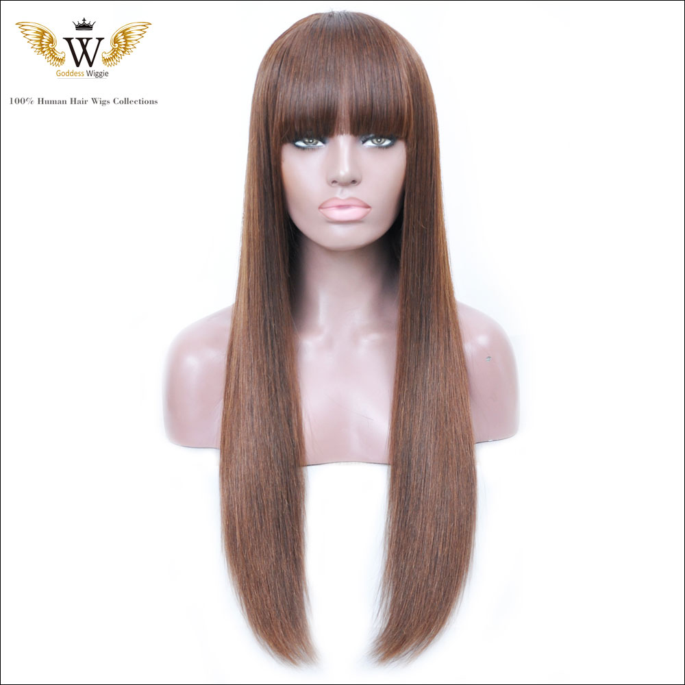 150Density Brazilian Ombre Lace Front Wigs With Baby Hair /Glueless Virgin Straight Full Lace Human Hair Wigs For Black Women<br><br>Aliexpress