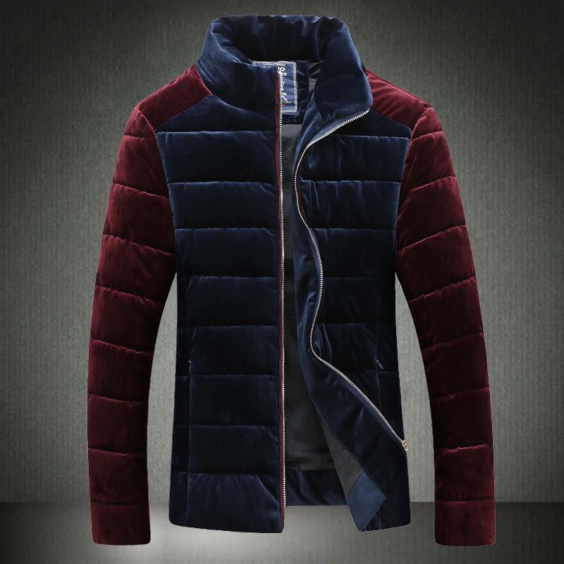 2015 winter parka men Down Jacket Men's padded winter new Korean version of casual men tide male coat male coat male jacket coat