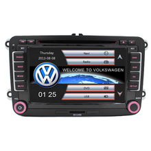 7″ Touch Screen Car DVD GPS built-in Can Bus support Original VW UI for VW Volkswagen POLO PASSAT B6 Golf 5 6 Skoda Octavia