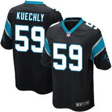 2016 Youth Carolina panthers, 59# Luke Kuechly,1# Cam Newton, black white blue Kids 100% stitched Logo and name, free shipping(China (Mainland))