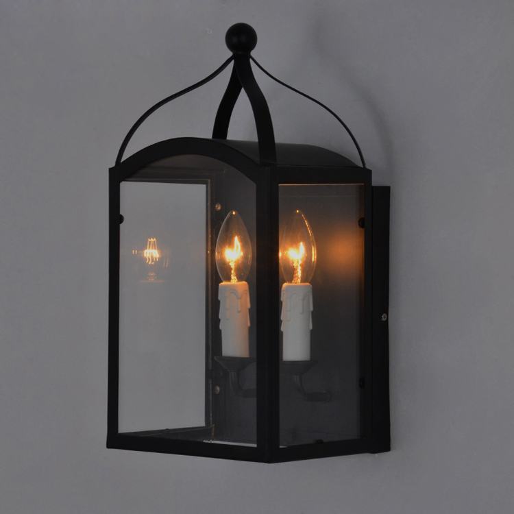 Vintage Industrial Retro Ameican Country Clear Glass Edison Wall Sconce Lamp Bathroom Mirror Home Modern Lighting Fixture<br>
