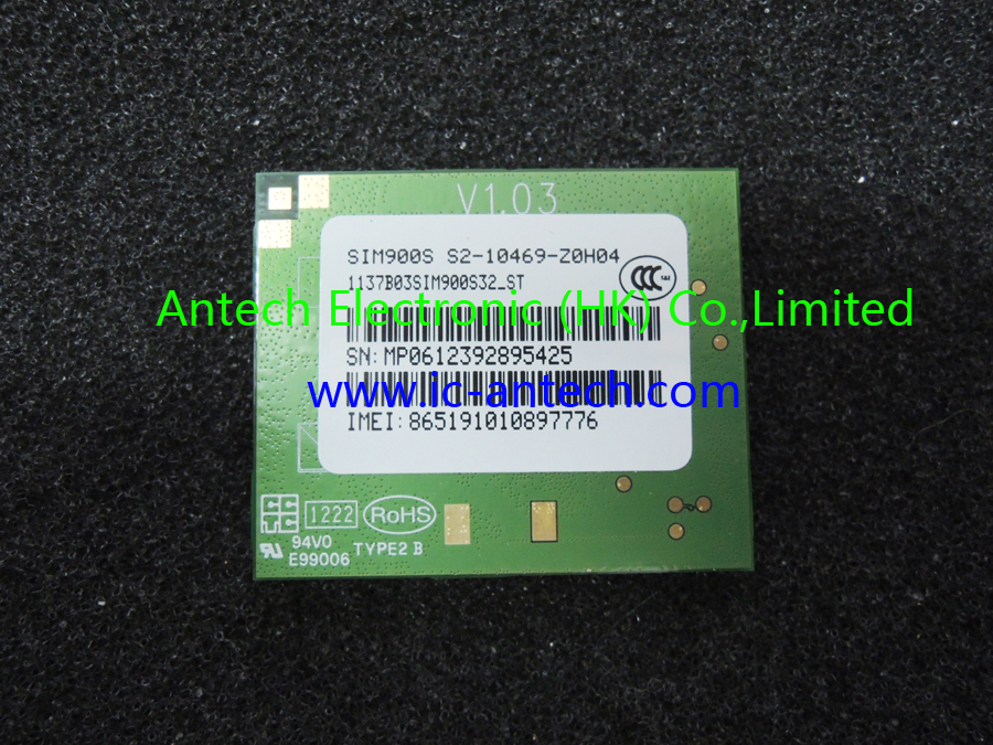 100% New Original,SIM900S,V1.03,Quad-band GSM module, GPRS module(China (Mainland))