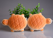 5PCS 13CM Kawaii Jumbo Squishy Tortoise Key Chains Soft Turtle Bread Scented Bag Cell Phone Straps Wholesale Christmas(China (Mainland))