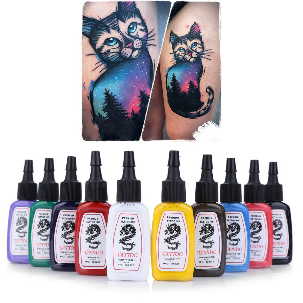 Wholesale 2016 easy use professional tattoo ink pigment for Cheap tattoo ink