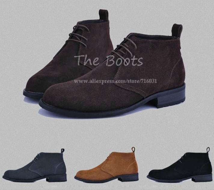 Black Mens Chukka Boots