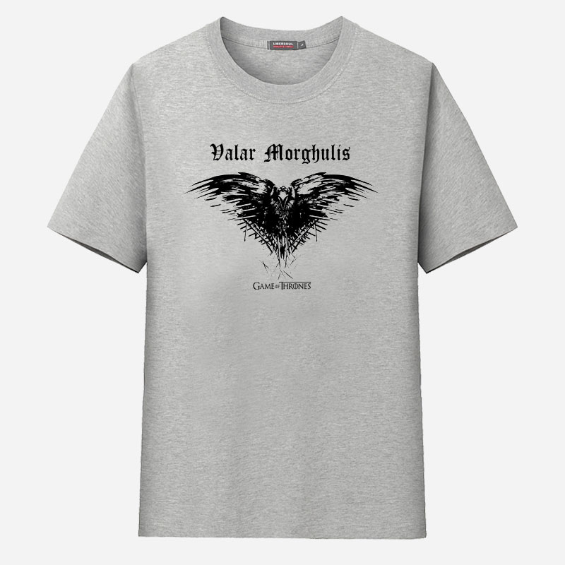 Buy game of thrones raven valar morghulis Where can i buy game of thrones t shirts