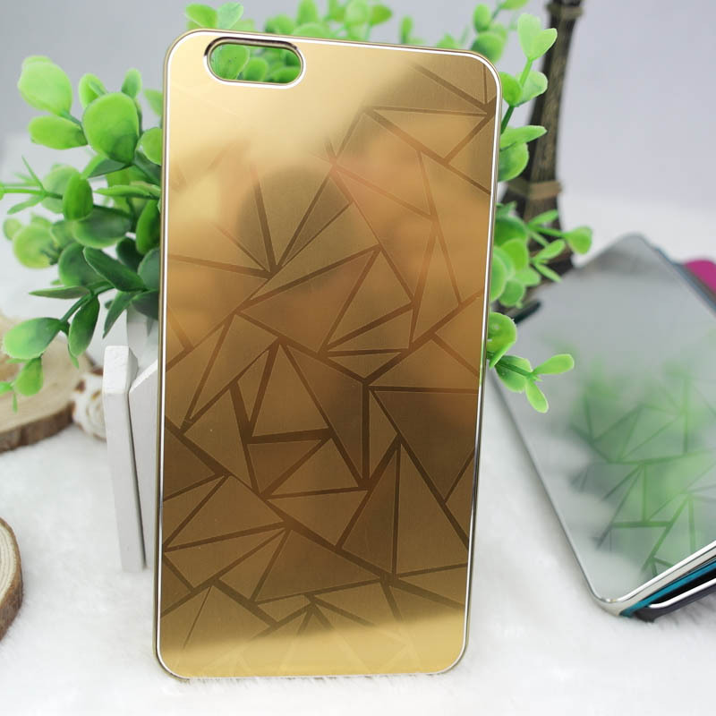Colorful Luxury Carving surface Full Metal material Cell Phone Protector case cover For iPhone 6 4.7inch(China (Mainland))