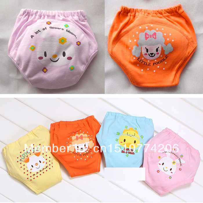 Toddler Boys Girls Potty Training Pants Baby 4 Layers Waterproof Trainer potty underwear Infant pants dqWnKG(China (Mainland))