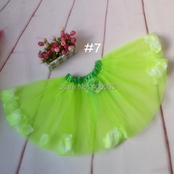 free shipping new summer baby girls flower petal tutu short skirts pettiskirt party tutu<br><br>Aliexpress