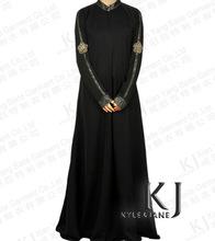 zum Verkauf 2015 neue designs hochwertige dubai abaya mit sticken für frauen fancy schwarze abaya jilbab muslimische kleidung islamischen abaya(China (Mainland))