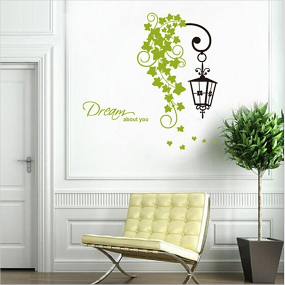 Diy Wall Decor With Lights : Lights wall stickers home decor decals diy art decoration