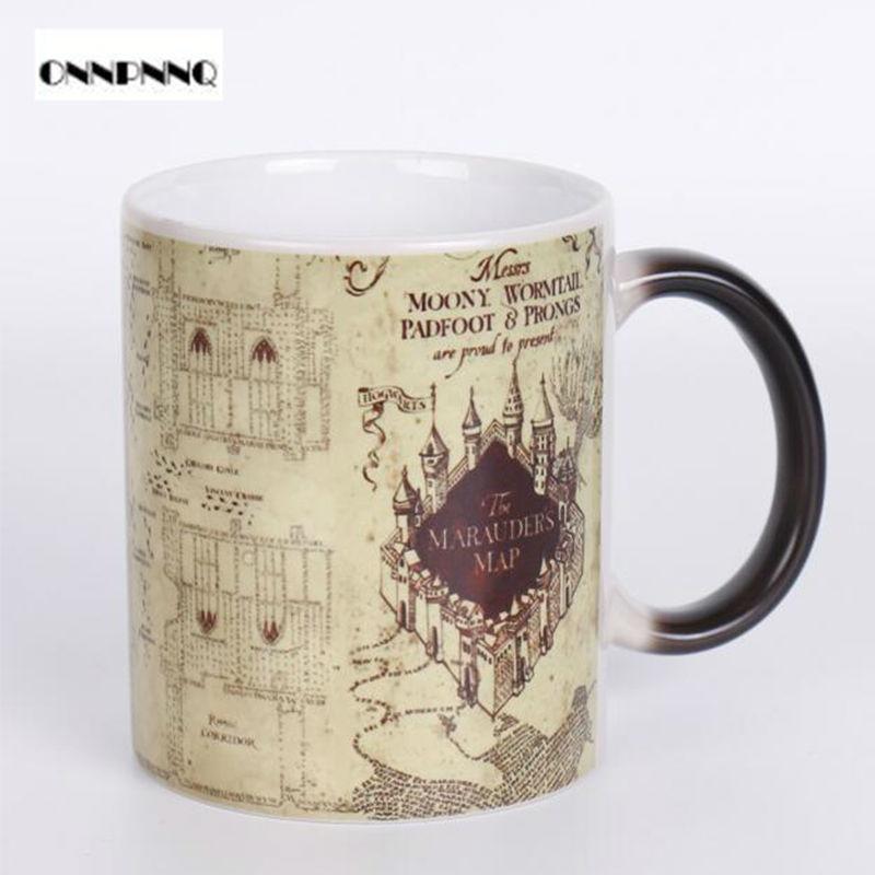 Magic Mug Designs Tazas De Cafe Creativas Potter Mugs Color Changing Heat Sensitive Mugs The Walking Dead Drop Shipping(China (Mainland))