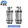 5pcs lot Aspire PockeX Replacement Coil 0 6ohm 18 23W 316L Stainless Steel Coil for PockeX