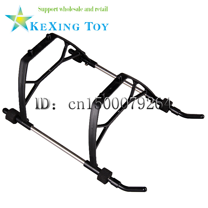 GT QS8006134 cm 3.5 channels RC helicopter spare parts QS8006-009 landing gear / landing skid free shipping 2pcs/lot(China (Mainland))