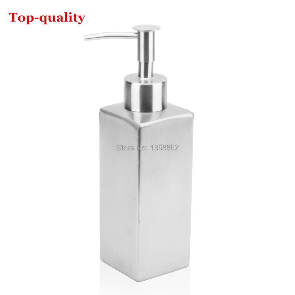 Top Quality Bath Bottle 304 Stainless Steel Soap Dispenser