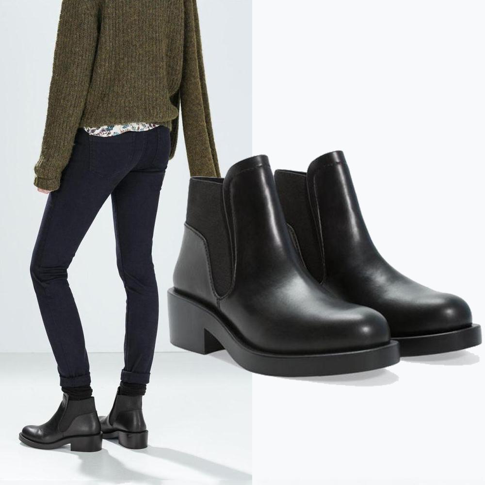 2015 femmes automne hiver mode vintage style pais talon. Black Bedroom Furniture Sets. Home Design Ideas