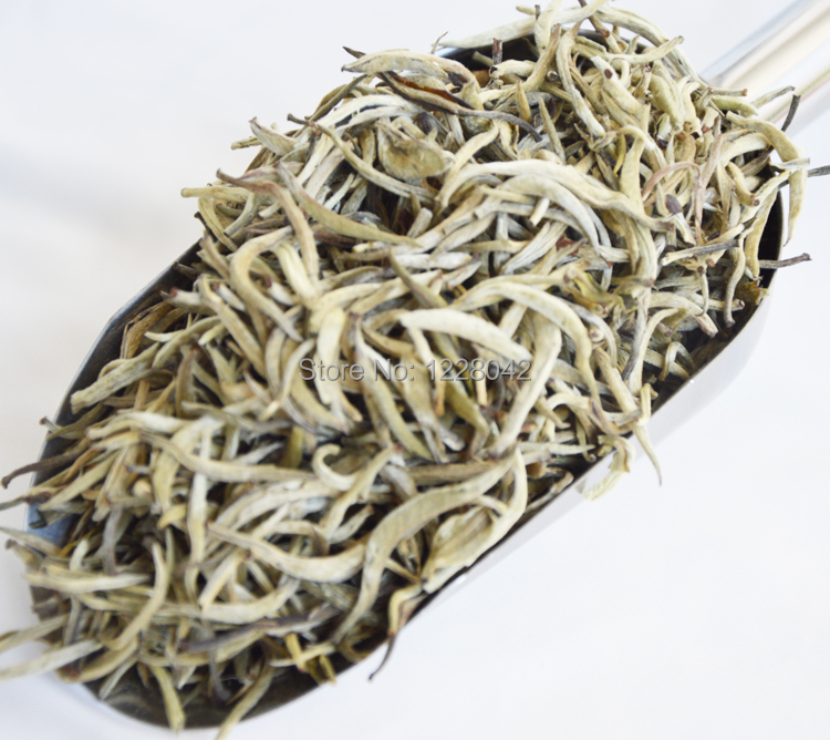 200g White Tea Silver Needle Anti old Tea Free Shipping 2015 Organic Premium Bai Hao Yin