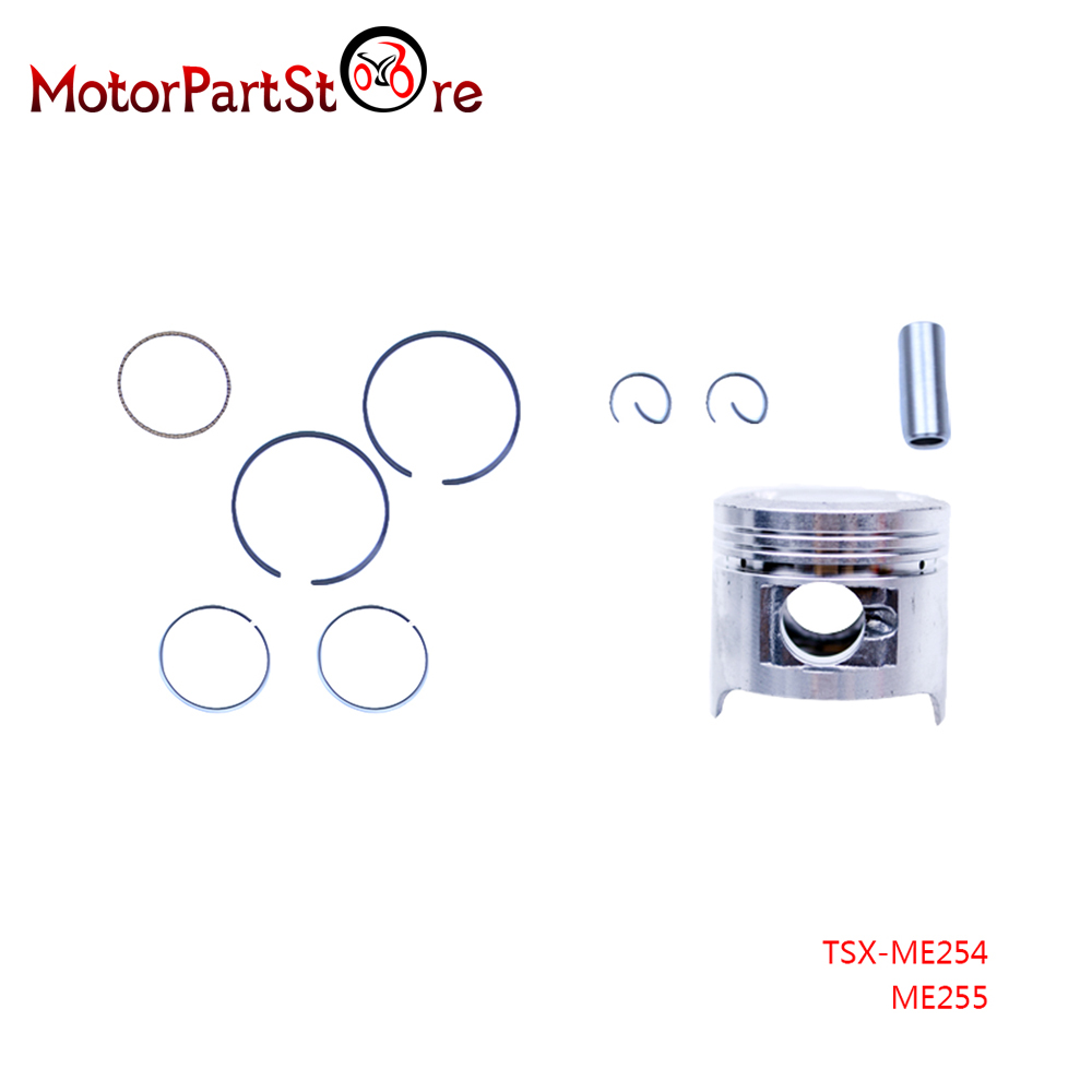 Piston Rings Pin Kit for Honda CRF50 CRF50F XR50 XR50R Z50 CRF XR Z 50 50CC Dirt Bike Trail Motorcycle ATV Quad Engine Part(China (Mainland))