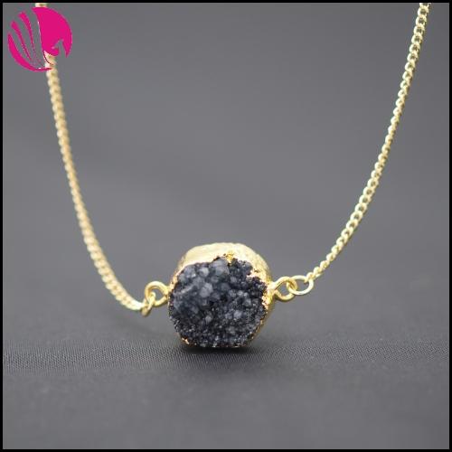 Цепочка с подвеской Statement necklace Colar natural stone necklace цепочка с подвеской charm necklace 20pcs lot bff wholesale