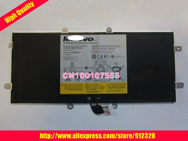 For Lenovo Yoga 11 11S Yoga 13 L11M4P13 4ICP4/56/120 14.8V 42WH 2840MAH original laptop battery
