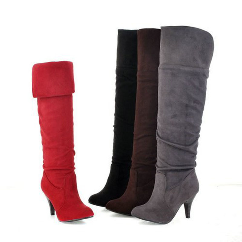 Original Steve Madden Trishia Women Suede Red Ankle Boot Boots
