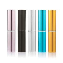 5pcs Mini Cosmetic Makeup Brushes Set Eyeshadow Powder Blush Foundation Brush Set with Bottle Pincel Maquiagem