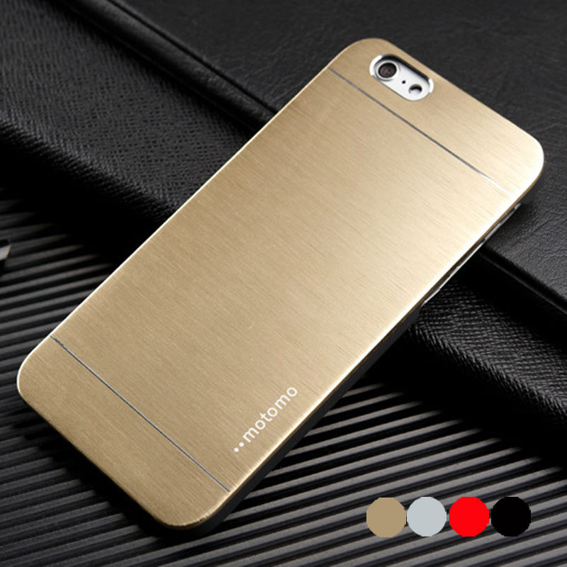 iPhone Luxury Aluminum Hard Case 5 5g 5s 4S 4 apple HOT Fashion Brushed Metal ARMOR Mobile Phone Back Cases Cover - Hots store