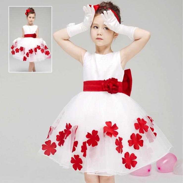 elegant baby dresses new children s wedding dress flower