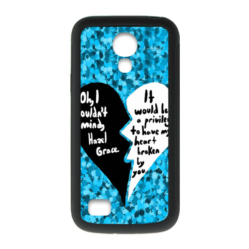 Cell Phone Case Manufacturers The Fault in Our Stars Broken Heart Case for Samsung S4 mini(China (Mainland))