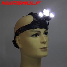 Headlight Headlamp 6000Lm 3 CREE XML T6 4 modes torch high light LED waterproof Aluminum Alloy