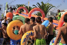 KK Birthday Parties Water Slip N Slide Inflatable Games In Portugal Market(China (Mainland))