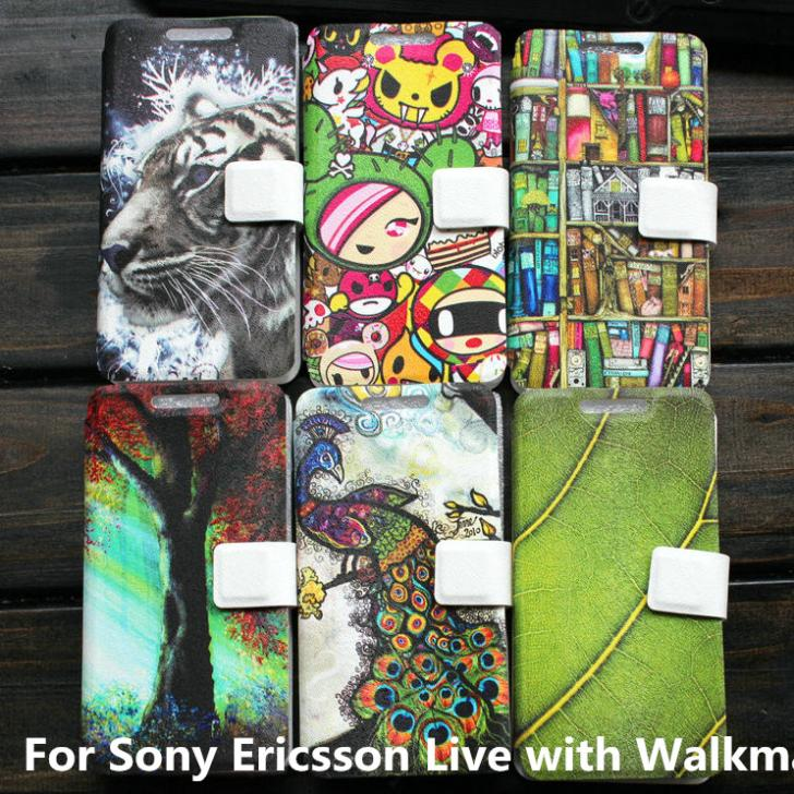 Cover case For Sony Ericsson Live with Walkman WT19I case cover gift(China (Mainland))