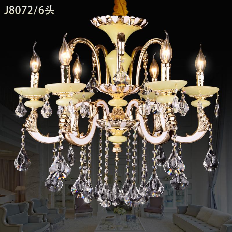 modern led jade chandelier k9 crystal chandeliers kristall. Black Bedroom Furniture Sets. Home Design Ideas