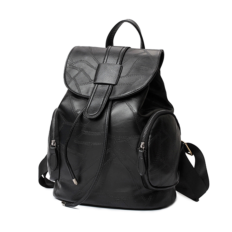 New Fashion Women Backpacks Women's Leather Backpacks Girl School Bag High Quality Ladies Bags Designer Women Backpack Bolsas(China (Mainland))