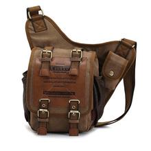 Hot Sales KAUKKO brand retro vintage canvas bag sports hiking travel men messenger bag man crossbody bags shoulder bags for men(China (Mainland))